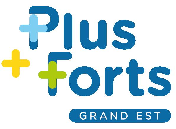 Logo Plus Forts Grand Est
