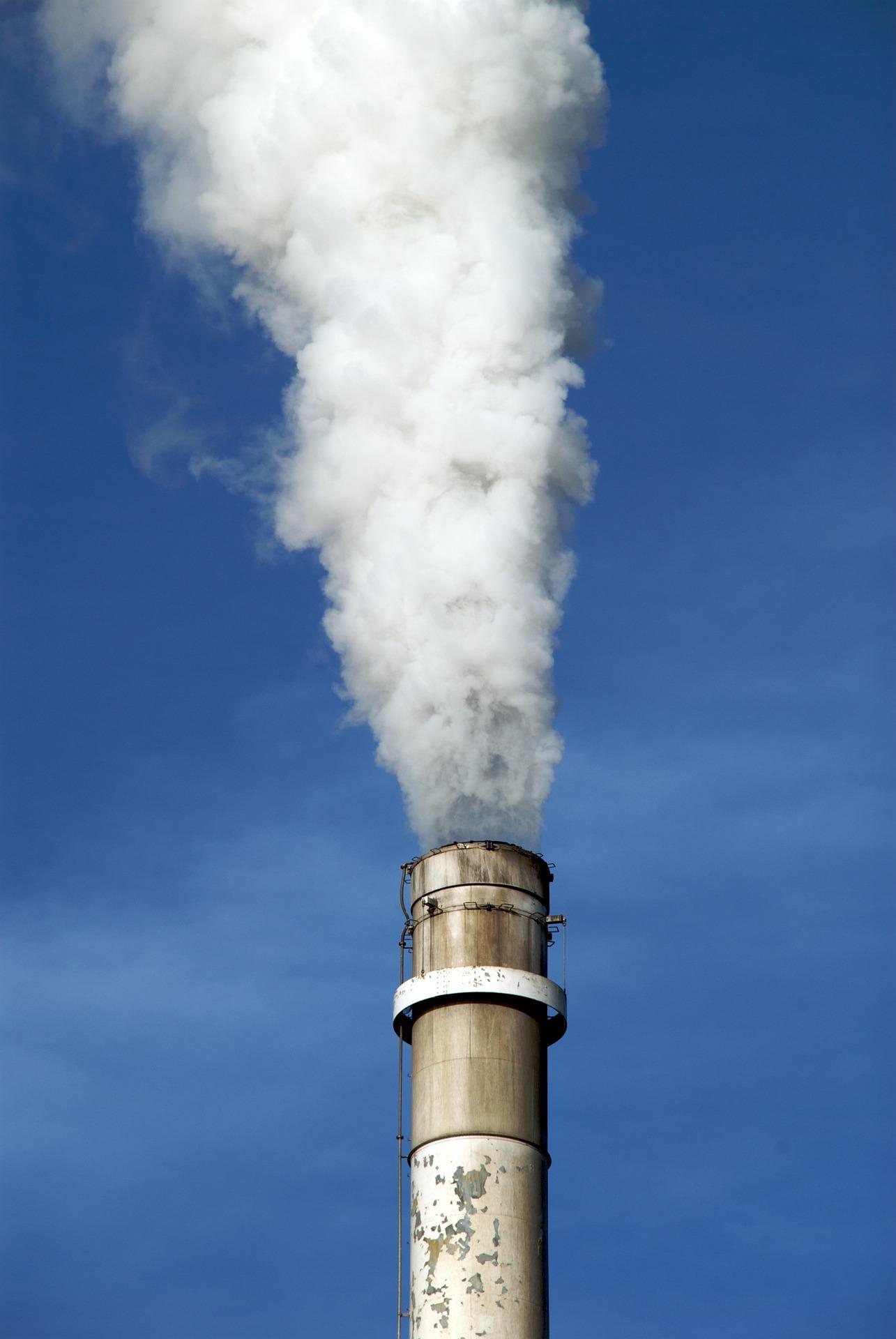 Rejet atmosphérique industrial